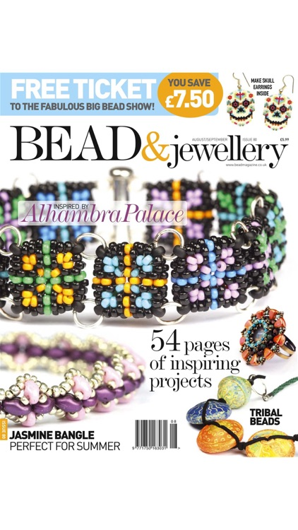 Bead Magazine - The UK's favourite magazine for beadwork, wirework, lampwork and mixed media