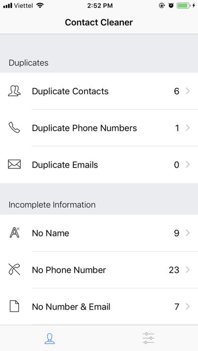 Contact Cleaner PRO screenshot 4