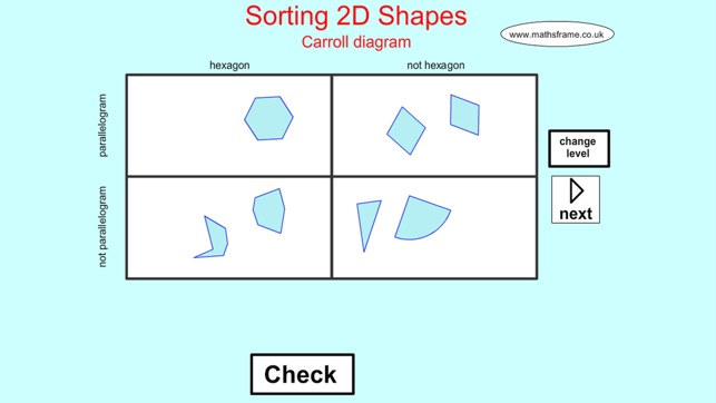 Sorting 2d shapes carroll on the app store screenshots ccuart Choice Image