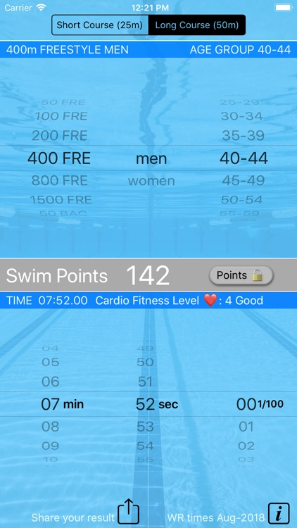 Swim Points: Elite and Masters screenshot-5