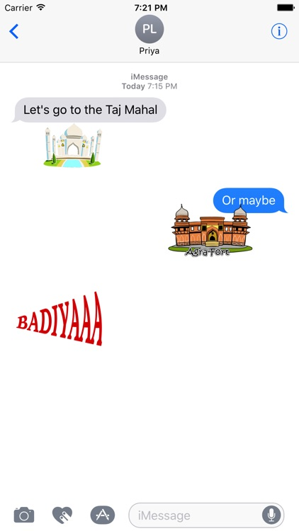 Desi Stickers for iMessage screenshot-0