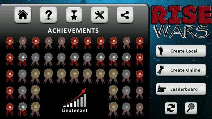 Rise Wars (strategy & risk) Screenshot