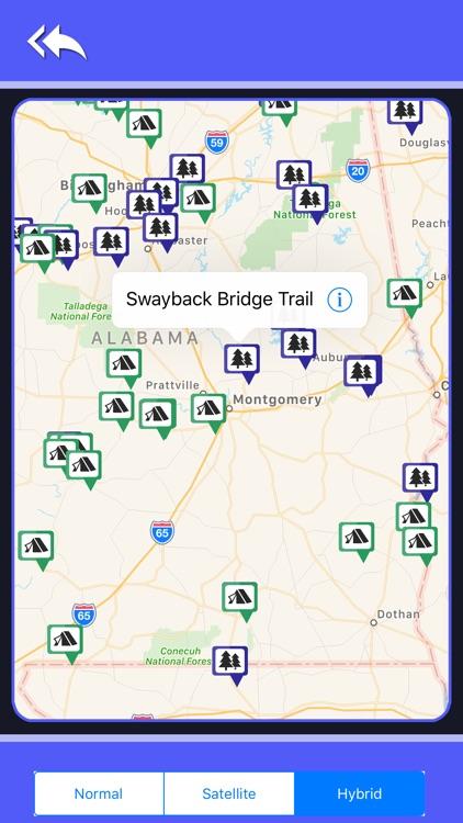Alabama Camping & State Parks screenshot-4