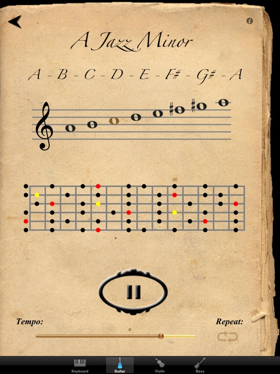 Scales & Modes for iPad screenshot-3