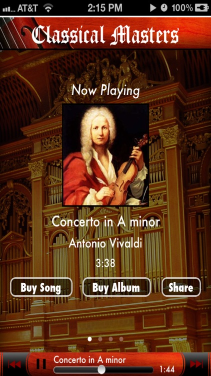Classical Masters - Anywhere Artist