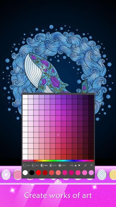 塗り絵ショー: 女のこのための塗り絵帳スクリーンショット6