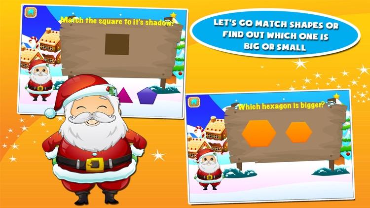 Santa Preschool Math Games screenshot-3