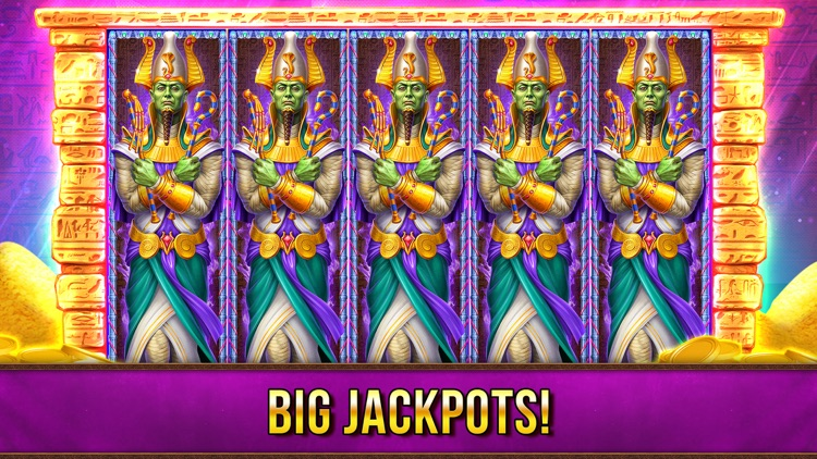 Slots Pharaohs ™ Vegas Casino screenshot-2
