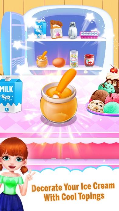 Yummy Ice Cream Making Shop screenshot two
