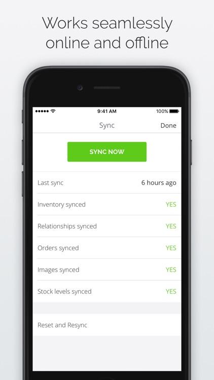 TradeGecko Mobile - Sales app screenshot-4