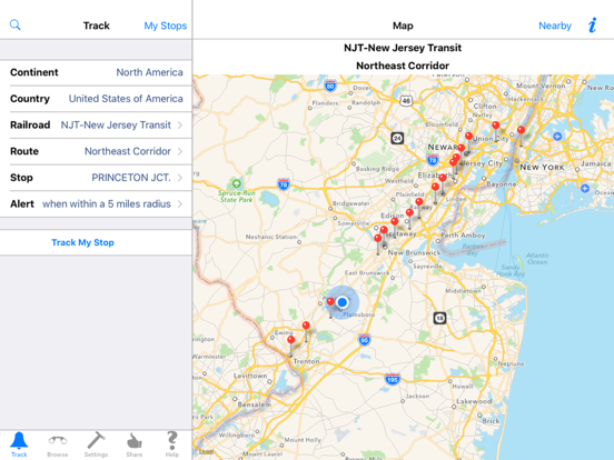 TrackMyStop Never Miss a Stop-ipad-0