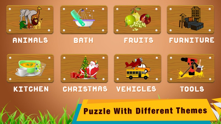 Shapes and Jigsaw Puzzle