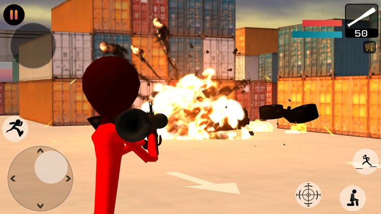 Stickman Gangster City Crime screenshot-4