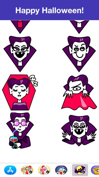 Dracula - Halloween stickers screenshot-4