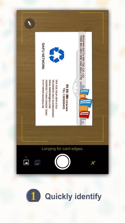 SamCard Pro 名刺認識 business card reader&scanner&ocr