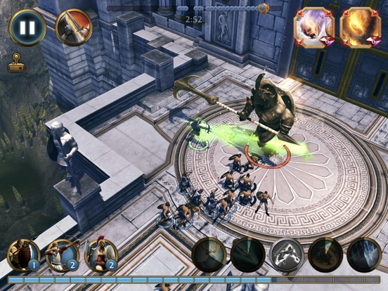 Olympus Rising: Hero Defense на iPad