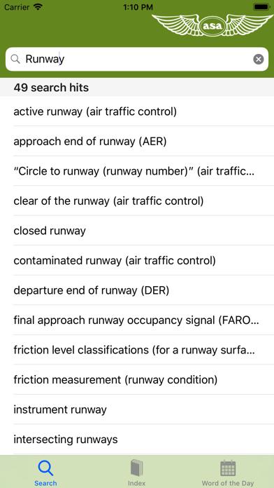 Aviation Dictionary review screenshots