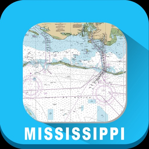 Mississippi Marine Charts RNC