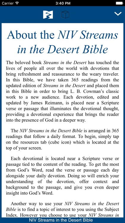Streams in the Desert Bible screenshot-0