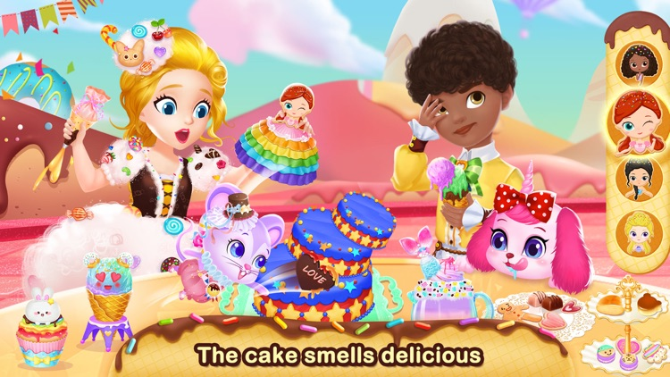 Princess Libby Dessert Maker screenshot-3
