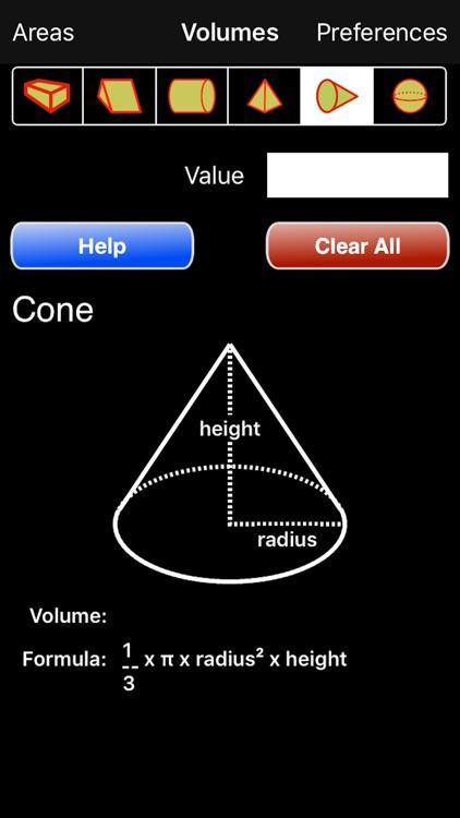 Volumes Calculator screenshot-3