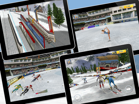 Athletics 2: Winter Sports screenshot 9