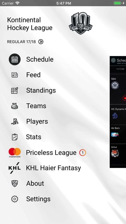 KHL screenshot-0