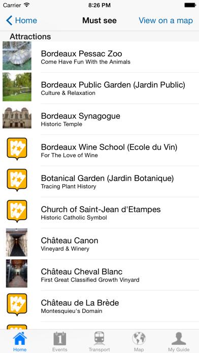 Bordeaux Travel Guide Offline screenshot four