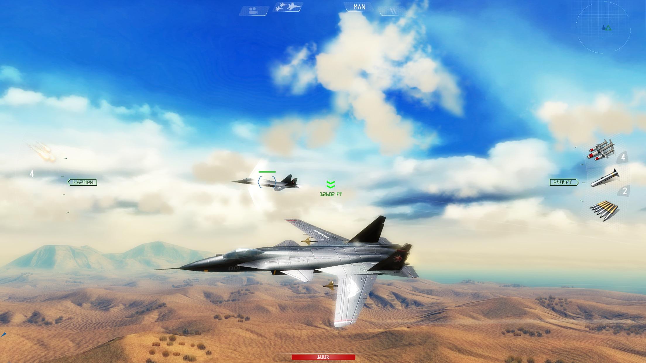 Screenshot do app Sky Gamblers Air Supremacy