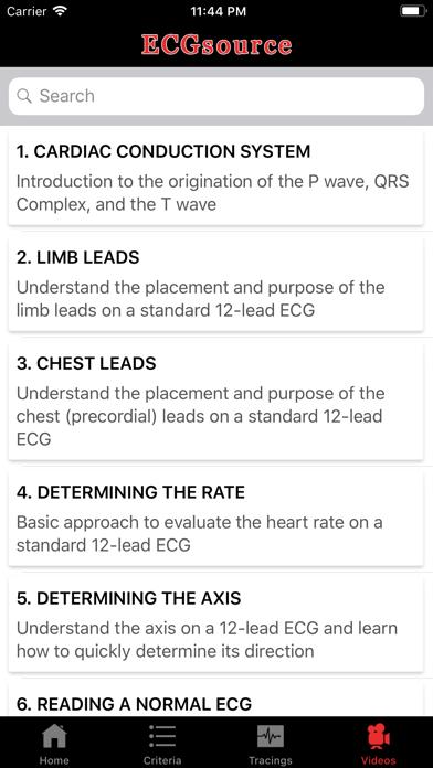 Ecgsource review screenshots