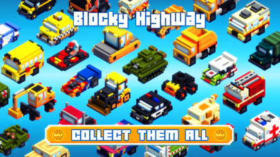 Screenshot from Blocky Highway