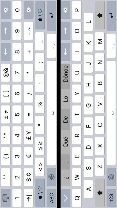 K4us Spanish Keyboard screenshot four