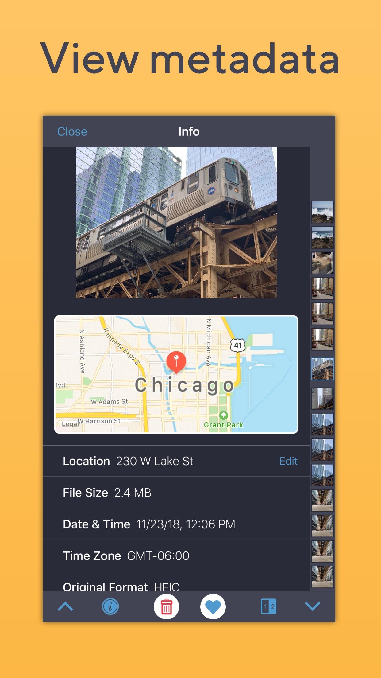 Screenshot do app BestPhotos