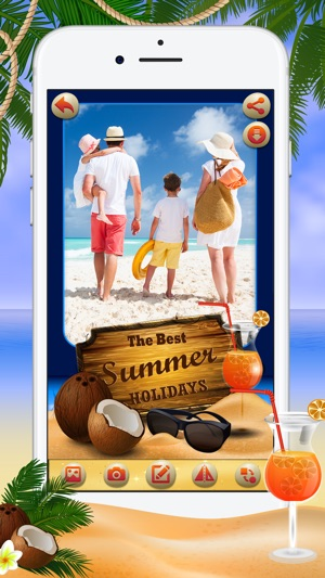 Summer Photo Frames & Stickers on the App Store