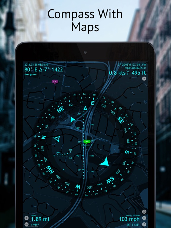 Screenshot #1 for Commander Compass