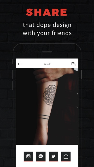 INKHUNTER PRO Tattoos try on screenshot 4