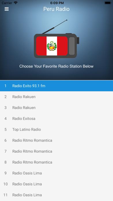 Peru Radio Station Peruvian FM screenshot one