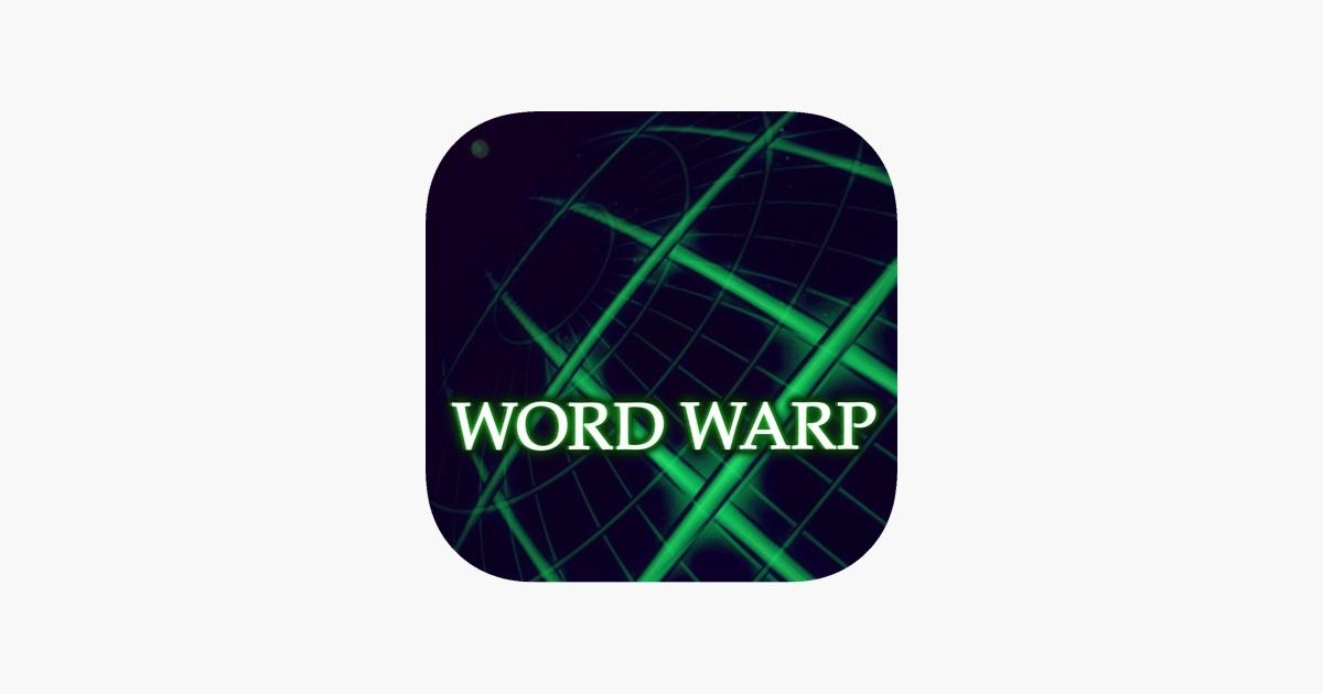 Word Warp A Word Puzzle