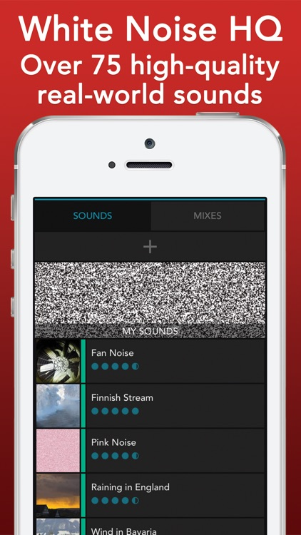 White Noise HQ: sound machine screenshot-0