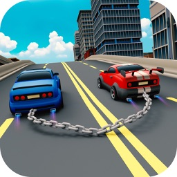 Toon Chained Cars Racing Game