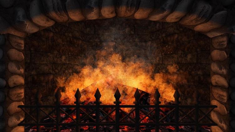 Realistic Fireplace screenshot-3