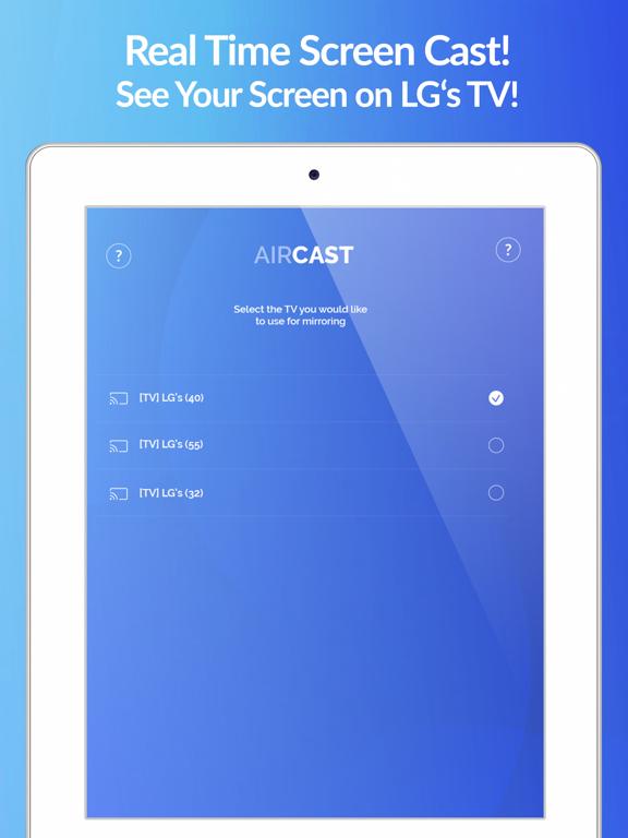 Air Cast - LG Smart TV Mirror by Air Mirror Solutions, LLC (iOS