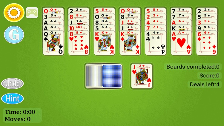 Golf Solitaire Mobile screenshot-1
