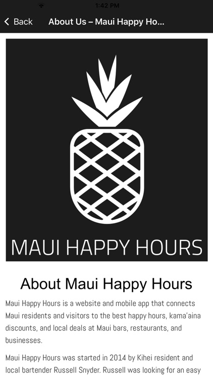 Maui Happy Hours screenshot-3