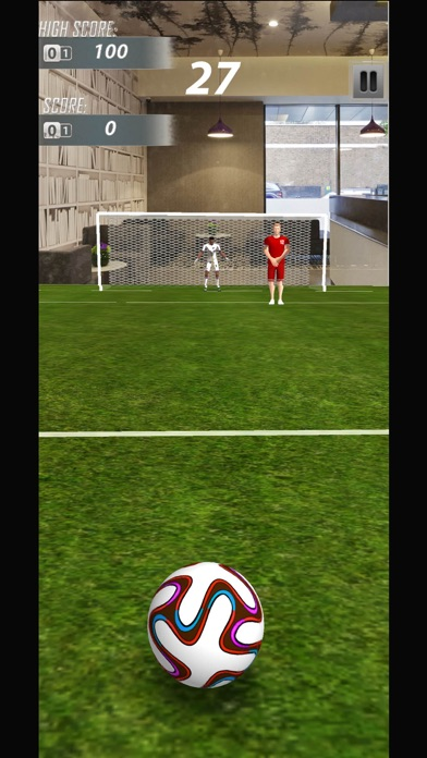AR Soccer Ultimate Hit screenshot one