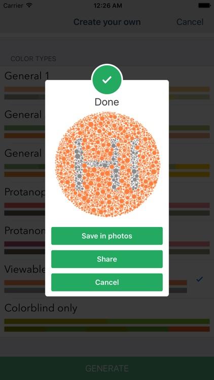 Color Vision Test Lite screenshot-4