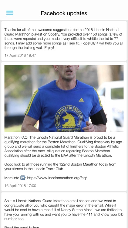 Lincoln Marathon 2018 screenshot-1