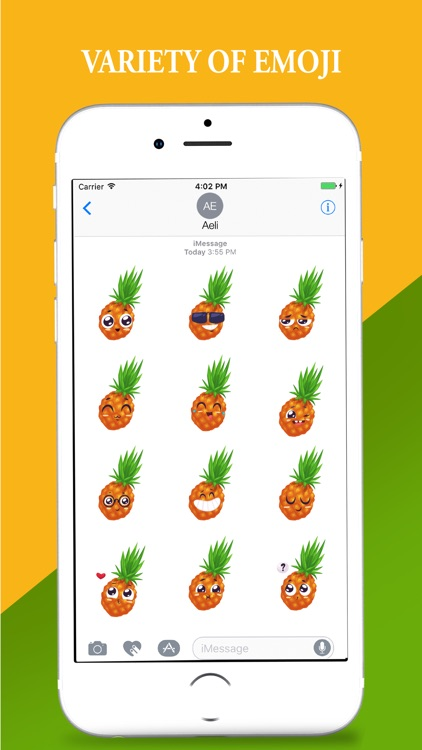 Hawaii Pineapple Stickers Pack screenshot-3