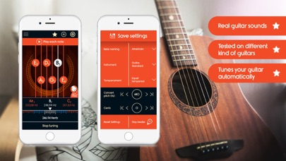 Guitar Tuner Master screenshot one