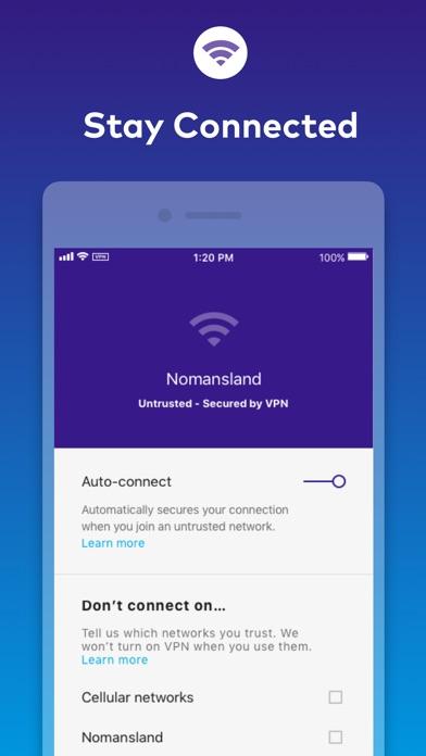 Keepsafe VPN - Stay Private Screenshot
